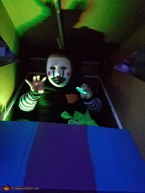 Puppet from Five Nights at Freddy's Homemade Costume