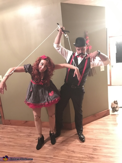 Puppet Master and his Puppet Homemade Costume