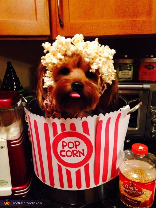 Puppy Corn Costume