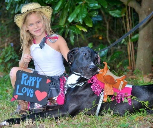 Puppy Love Homemade Costume