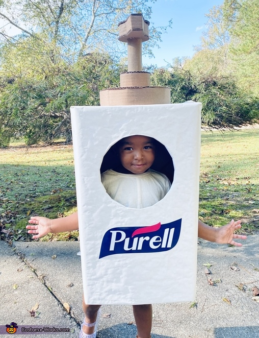 Purell Hand Sanitizer Homemade Costume