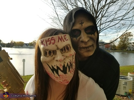 Purge Couple Homemade Costume