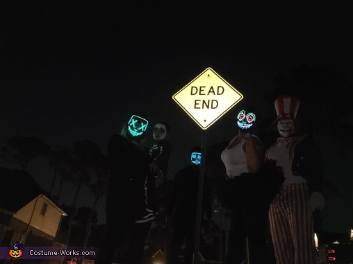 Dead End 2, Purge: Election Year Costume