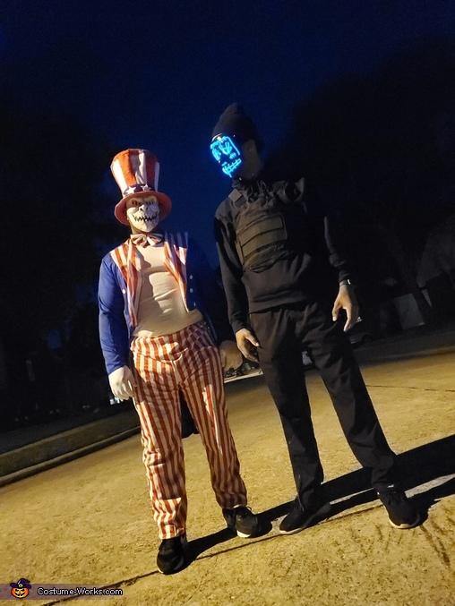 Roaming, Purge: Election Year Costume