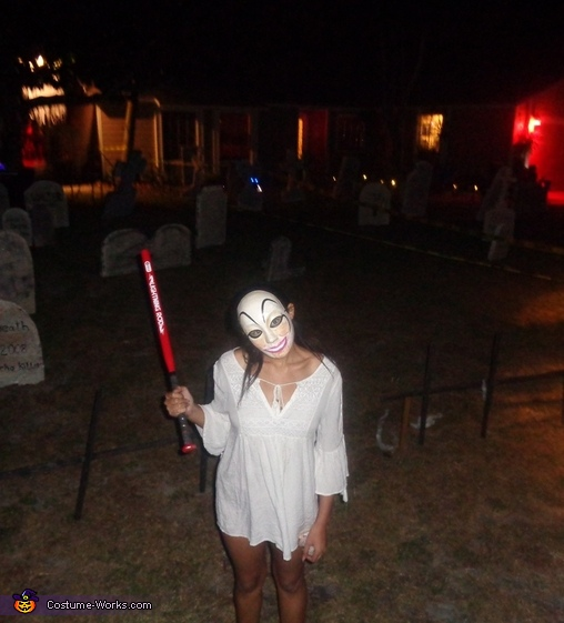 Purge Girl Homemade Costume