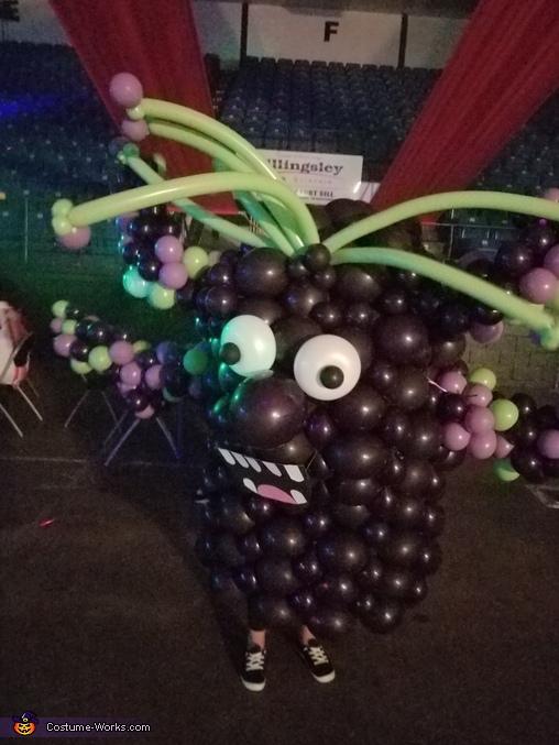 Purple Balloon Monster Costume