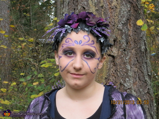 Kayleigh Purple Fairy 1, Purple Fairy Costume