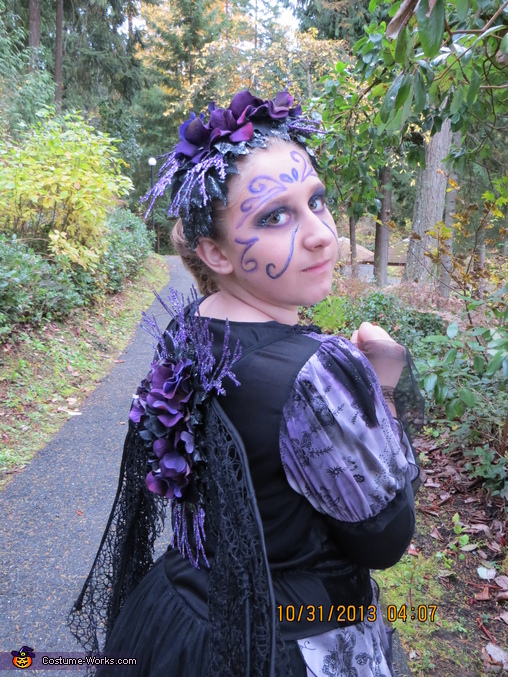 Purple Fairy Homemade Costume
