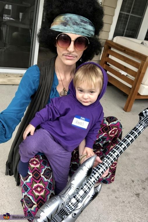 Purple Hayes & Jimi Hendrix Costume