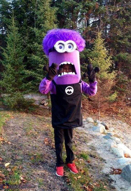 Relatively DIY Purple Minion Costume Idea BO68