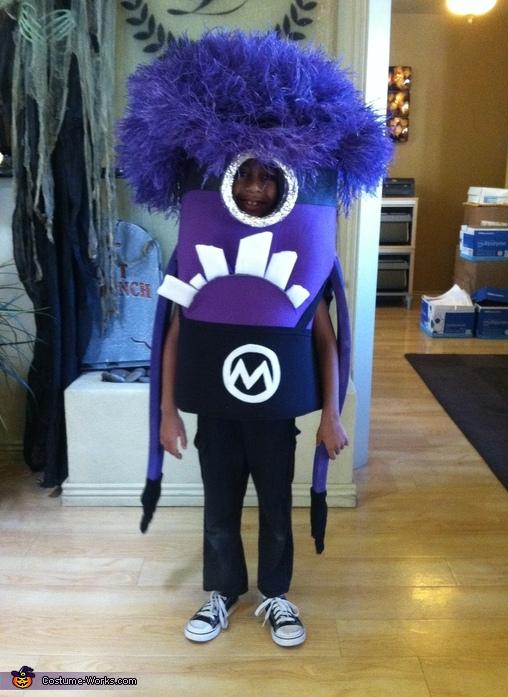Purple Minion Costume