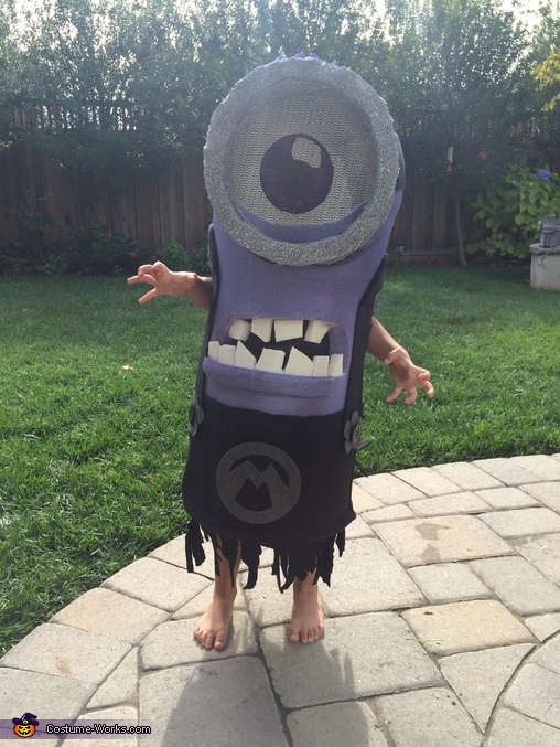 'bahhhhh!!', Purple Minion Costume