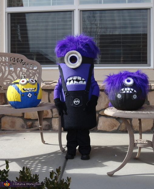 Purple Minion Costume