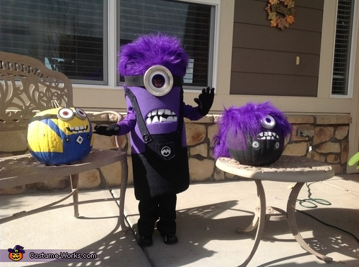 Waving purple Minion!, Purple Minion Costume