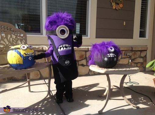 Purple minion fun!, Purple Minion Costume