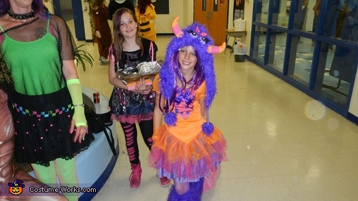 Purple Monster Homemade Costume