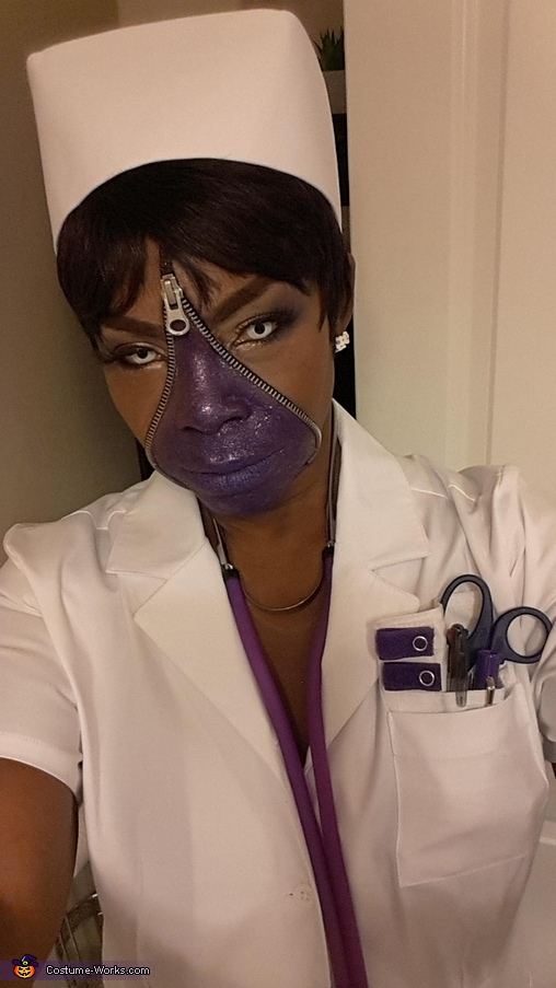 Purple Nurse Costume