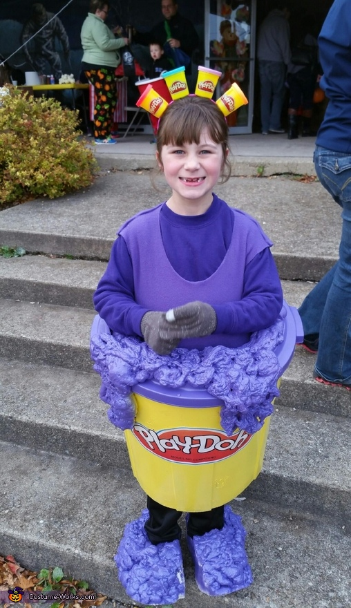 Purple Playdoh Costume