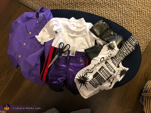 The process, Purple Rain Costume