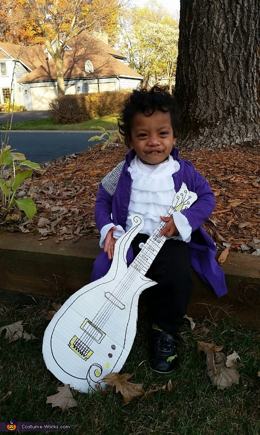 Purple Rain Prince Costume
