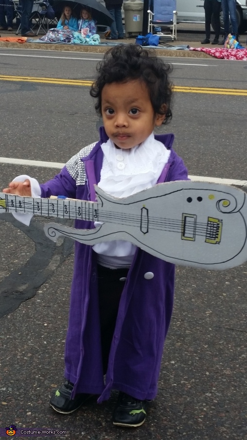 Purple Rain Prince Homemade Costume