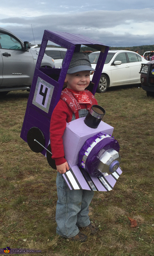 Purple Train Costume