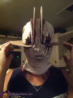 claudia mask, Pyramid Head & Claudia Wolf Costume
