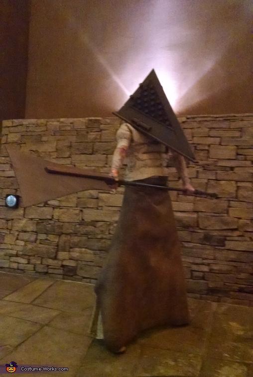 pyramid head, Pyramid Head & Claudia Wolf Costume