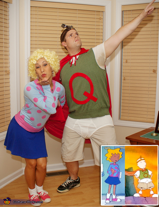 Quailman and Patti Mayonnaise Homemade Costume