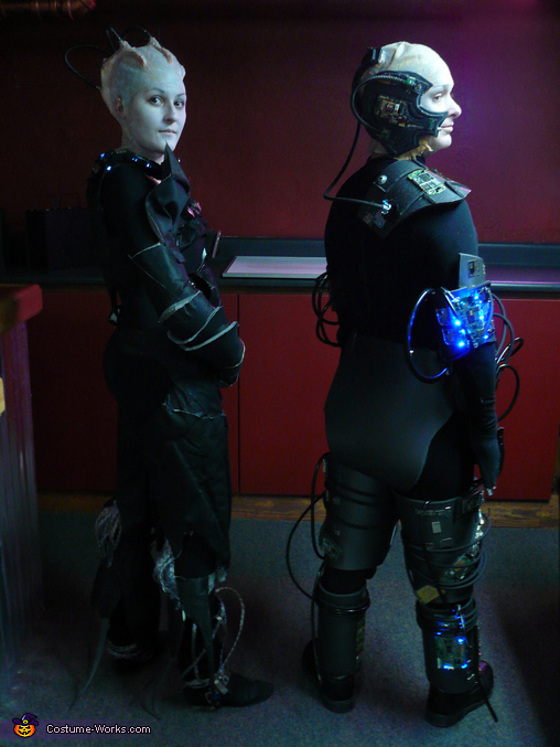 Queen and Locutus - Homemade costumes for couples