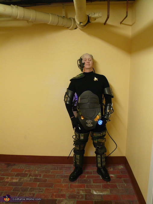 Queen and Locutus Homemade Costumes
