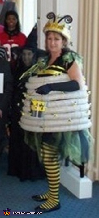 Queen Bee in her hive, Bee Keeper and his Queen Bee Couple Costume