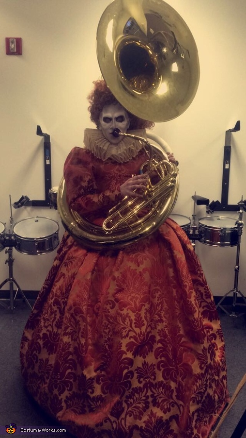 Queen Elizabeth Back from the Dead Homemade Costume