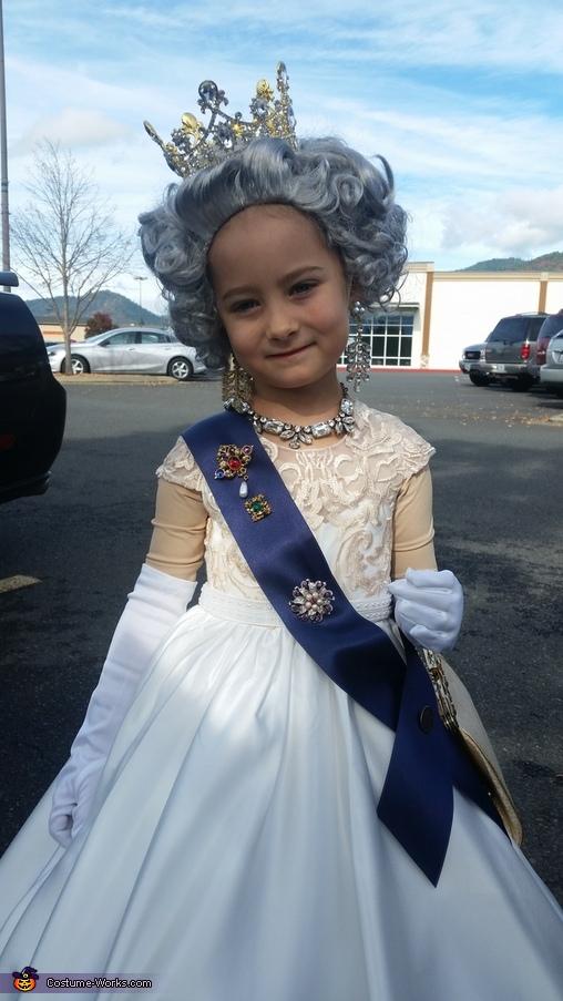 Queen Elizabeth II Homemade Costume