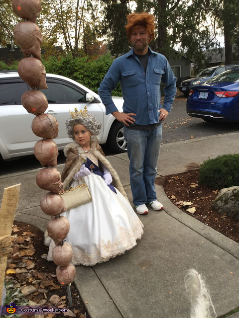 Queen Elizabeth II Homemade Costume