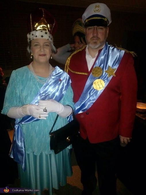 Queen Elizabeth II & Prince Phillip Costume
