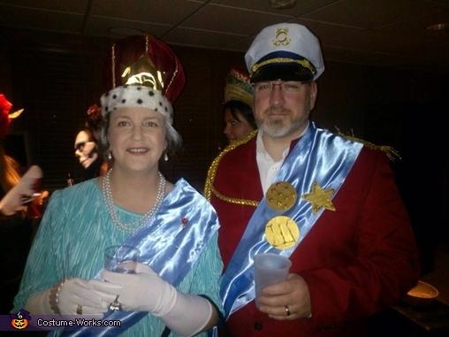 QEII & Prince Phillip, Queen Elizabeth II & Prince Phillip Costume
