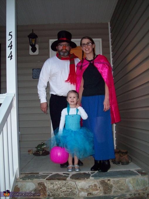 Elsa, Anna, & Olaf, Queen Elsa Costume
