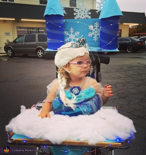 Queen Elsa's Ice Castle Costume