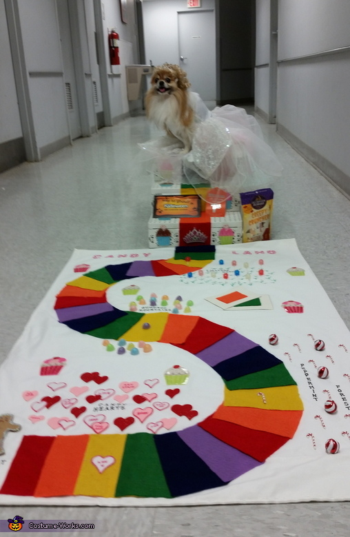 Queen Frostine Candy Land Game Costume