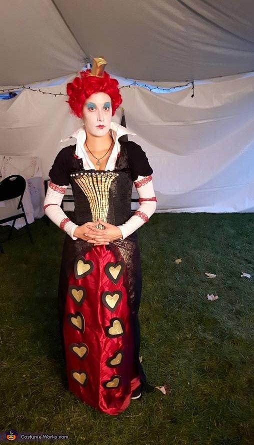 Diy Queen Of Hearts Adult Costume