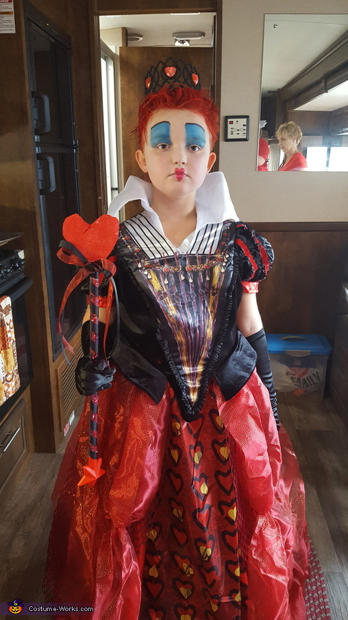 Queen Of Hearts Halloween Costume For Girls