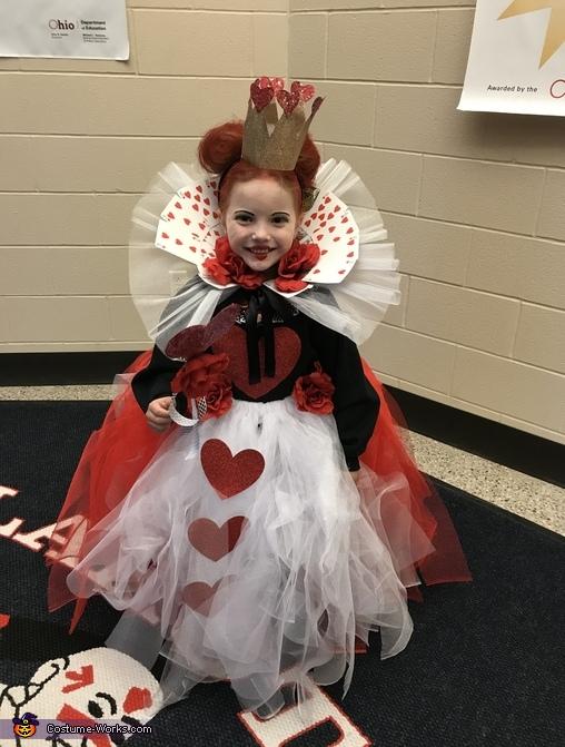 Queen Of Hearts Diy Costume For S