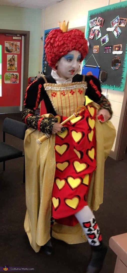 Tights, Queen of Hearts Costume