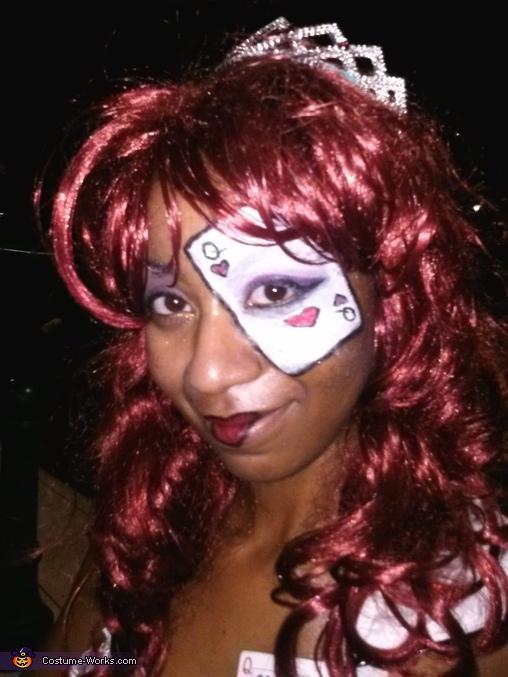 Queen of Hearts Homemade Costume