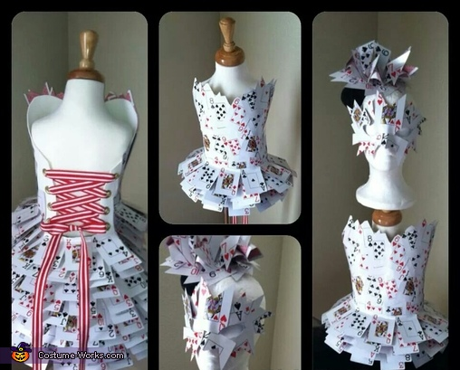 Queen of Heart, Queen of Hearts Costume