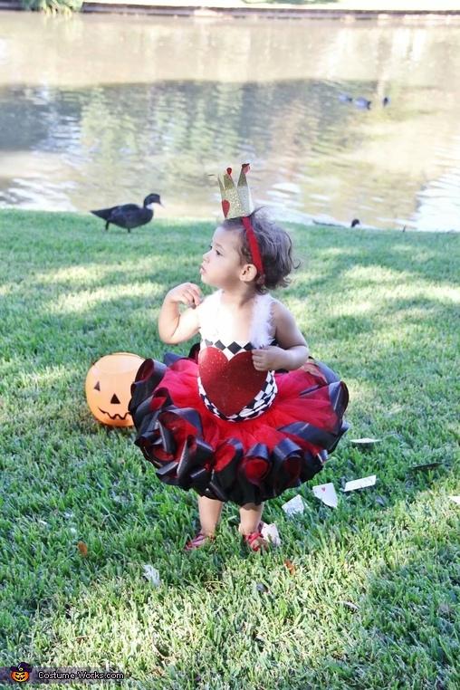 Queen of hearts, Queen of Hearts Costume