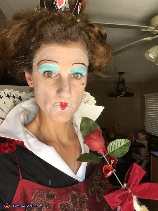Make up, Queen of Hearts Costume