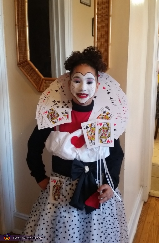 Queen of Hearts Homemade Costume