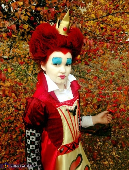 QUEEN Of HEARTS, Queen of Hearts Costume